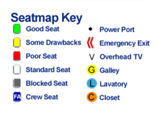 6-Seatmap Key